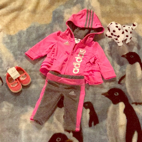 63ace3202 adidas Matching Sets | Too Cute Baby Suit | Poshmark